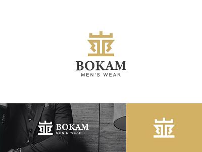 Bokam Logo logo branding