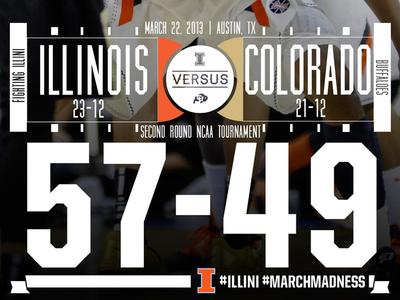 Final Score Graphic vs. Colorado