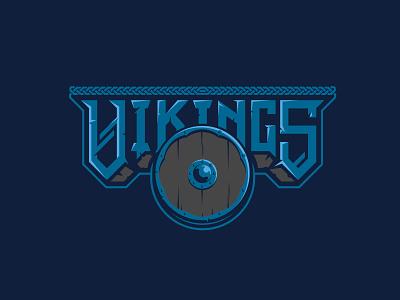 Unused Viking 3 logo viking