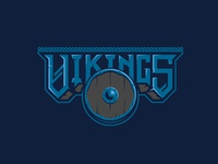 Unused Viking 3 logo viking