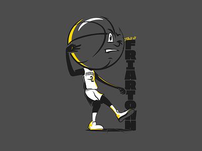Basketball Head - Providence friars providence illustration basketball