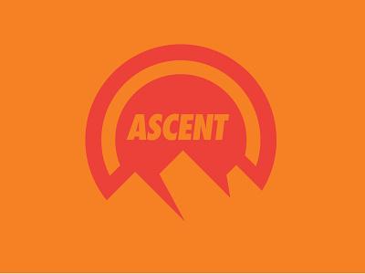 Unused Ascent Logo logo design logo