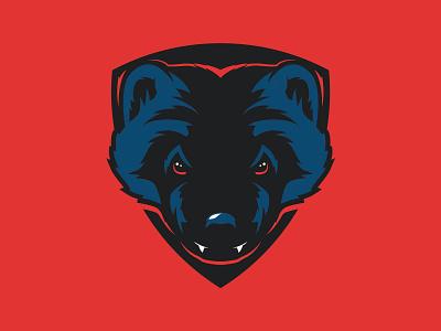 Unused Wolverine wolverine illustration logo