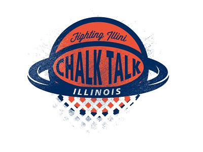 Illini Chalk Talk illini basketball camp illinois uofi