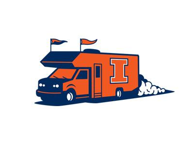 Illinois Caravan Logo logo illini illinois van