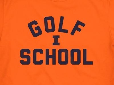 Golf School fourth and kirby shirt university golf illini illinois