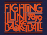 Fighting Illini Wordmark