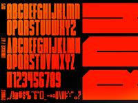 Big Daddy Hacks - Bold Condensed Font