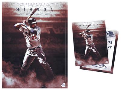 Miguel Sano Baseball Card