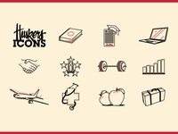 Cornhusker Icon set