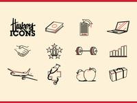 Cornhusker Icon set