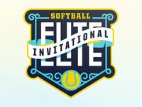 Unused Softball Invite Logo