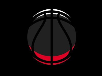 Highlight Glow Basketball logo basketball