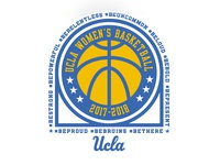 UCLA Women's Basketball Shirt #3