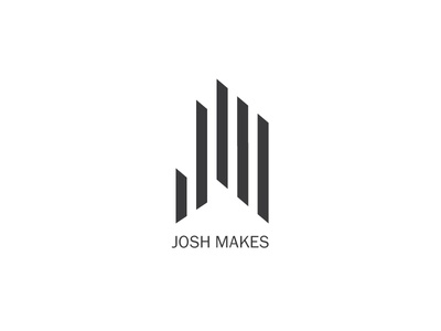 Josh Makes woodworking logo