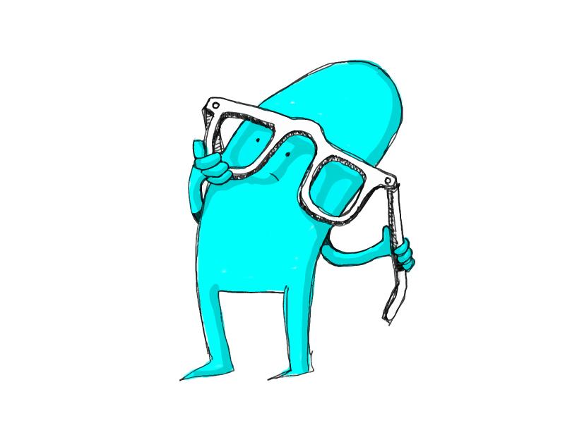 deeder magnet glasses deeder vector magnet stickermule