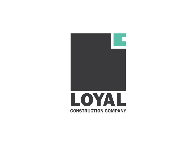 Loyal Construction Co vector logo