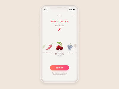 Sauce Store App Concept sketch aftereffects freebie ios iphone mobile ui animation concept app