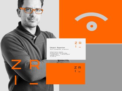 ZRI v koren assurance quality software branding identity logo logotype
