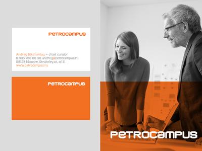 Petrocampus stationary logo education university petroleum rebranding