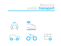 Moscow Transport Iconset