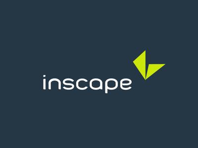 Inscape app logo in color logotype logo flatdesign vector logodesigner branding logos identity brand trademark