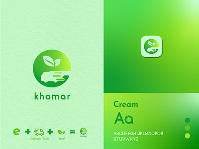 E-Khamar logodesign logo designer business logo minimalistic logo