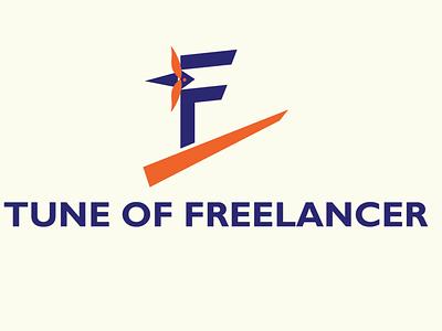 TUNE OF FREELANCER LOGO tune of freelancer logo tune of freelancer logo design minimalist logo eye catching logo creative logo logodesign logo