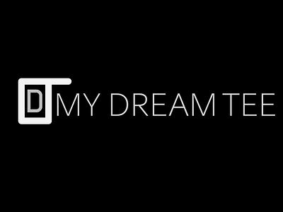 My dream tee logo my dream tee logo minimalist logo logo logodesign logo design eye catching logo creative logo
