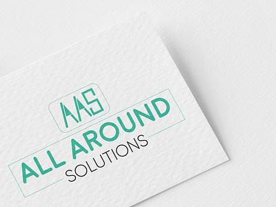 All Round solutions LOGO letter logo aas logo aas logo pismire art creative logo logodesign minimalist logo eye catching logo logo logo design