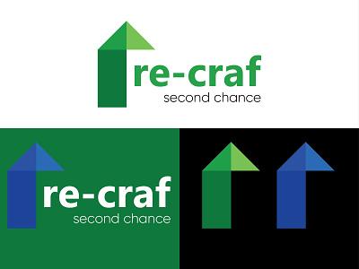 Re-craf Logo design r letter logo letter logo iconic logo design iconic logo pismire art minimalist logo logodesign logo design logo eye catching logo creative logo