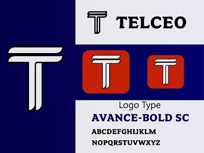 Telceo Logo Design iconic logo company logo best logo t letter logo letter logo logo design logodesign logo eye catching logo creative logo