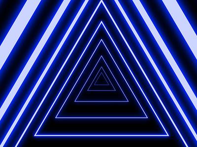 Neon Pyramid Portal 4 blue mood aesthetic shapes illustrator vectorart illustration art vector creative pyramid polygon glow in the dark glowing glow neon lights neon colors neon light neon sign neon