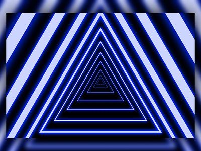 Glowing Neon Pyramid Portal dark design modern design illustrator illustration art vector creative energetic electric cyberpunk glow in the dark glowing glow modern neon lights neon colors neon light neon sign neon