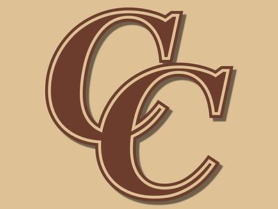 Crockett Cougars Baseball Club Alternate Logo gold brown team logo team baseball team baseball logo baseball brand identity alternate logo alternates alternate logos icon logo design logodesign vector creative design branding logo