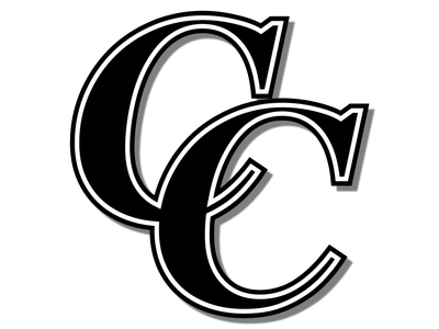 Crockett Cougars Baseball Club Alternate Logo Black & White white background black and white black  white white blackandwhite black team logo team baseball logo baseball cap baseball logos icon logo design logodesign creative vector design branding logo