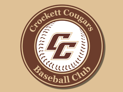 Cougars Baseball Club vector logo brand vector logo shield logo shield team logo team baseball logo club baseball club baseball logos logo design icon logodesign typography design branding vector creative logo