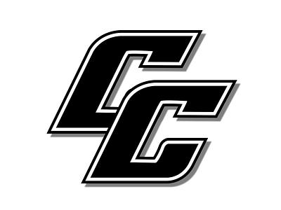 Cougars Baseball Club Alternate Logo Black & White typographic black and white blackandwhite white black branding design team logo team baseball logo baseball logos icon typography logo design logodesign branding design vector creative logo