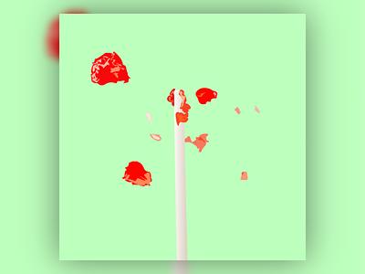 Minimalist Lollipop digital art clean simple adaptable playful fun minimalist art vector art vectorart illustration design vector creative