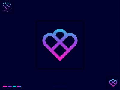 Beloved Logo Design khaled beloved logo designer b love logo dribble logo love creative logo brand identity gradient logo logo mark abstract logo khaled pappu branding graphic design logo design logo love love logo beloved logo