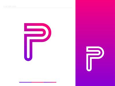 P Letter Logo Design logo designer logo brand dribble creative logo gradient logo khaled pappu p letter logo design branding logo graphic design letter logo p logo p letter logo