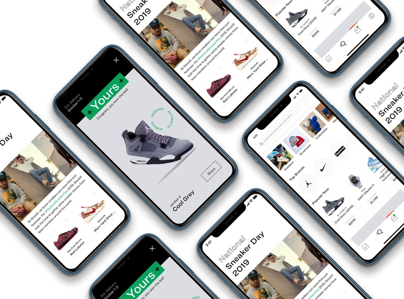 StockX Prototype Pt 2 ringside app mobile stockx