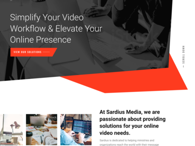 Sardius Media Web Design