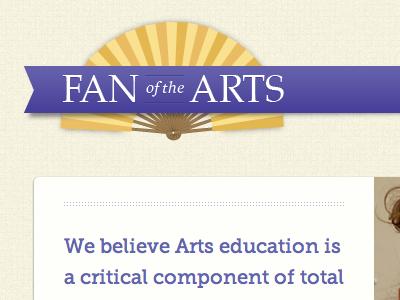 Fan of the Arts