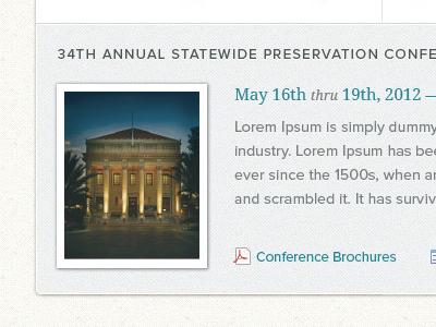 Conference Teaser