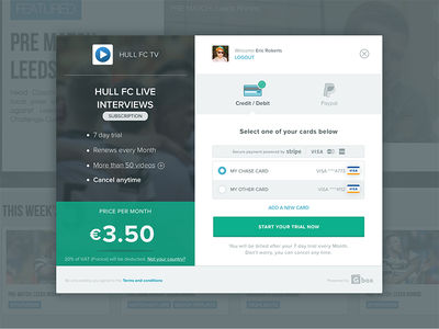 Checkout Screen payment shopping purchase form paypal credit card checkout visual design ui design