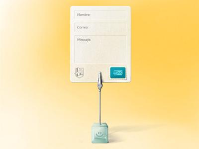 Form On Clip ui design web design form