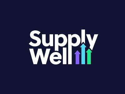 SupplyWell branding logo branding brand design