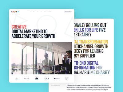 Kolodo Homepage ux ui website design