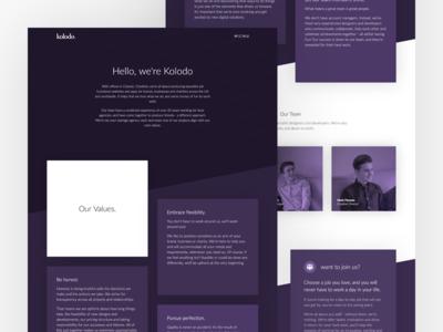 New Kolodo website